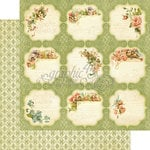 Graphic 45 - Secret Garden Collection - 12 x 12 Double Sided Paper - Meadow Lark