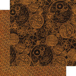 Graphic 45 - Steampunk Spells Collection - 12 x 12 Double Sided Paper - Clockworks