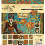 Graphic 45 - Steampunk Spells Collection - 8 x 8 Paper Pad