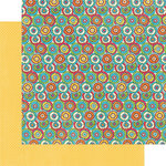 Graphic 45 - Bohemian Bazaar Collection - 12 x 12 Double Sided Paper - Kaleidoscope