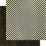 Graphic 45 - Mother Goose Collection - 12 x 12 Double Sided Paper - Checkers