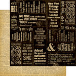 Graphic 45 - Typography Collection - 12 x 12 Double Sided Paper - Journey