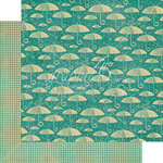Graphic 45 - Raining Cats and Dogs Collection - 12 x 12 Double Sided Paper - Check it Out