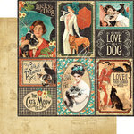 Graphic 45 - Raining Cats and Dogs Collection - 12 x 12 Double Sided Paper - Well Bred