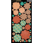 Graphic 45 - Raining Cats and Dogs Collection - Cardstock Flowers
