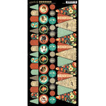 Graphic 45 - Raining Cats and Dogs Collection - Cardstock Banners