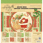 Graphic 45 - Twas the Night Before Christmas Collection - 12 x 12 Paper Pad