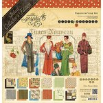 Graphic 45 - Times Nouveau Collection - Deluxe Collector's Edition - 12 x 12 Papercrafting Set