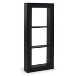 Graphic 45 - Staples Collection - Window Shadow Box - Black