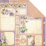 Graphic 45 - Time to Flourish Collection - 12 x 12 Double Sided Paper - May Cut Apart