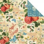 Graphic 45 - Time to Flourish Collection - 12 x 12 Double Sided Paper - September Flourish