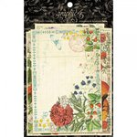 Graphic 45 - Time to Flourish Collection - 4 x 6 Journaling and Ephemera Cards