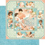Graphic 45 - Precious Memories Collection - 12 x 12 Double Sided Paper - Precious Memories