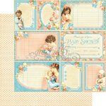 Graphic 45 - Precious Memories Collection - 12 x 12 Double Sided Paper - Cutie Pie