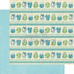 Graphic 45 - Precious Memories Collection - 12 x 12 Double Sided Paper - Puppy Dogs' Tails