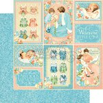 Graphic 45 - Precious Memories Collection - 12 x 12 Double Sided Paper - Pat-A-Cake