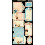 Graphic 45 - Precious Memories Collection - Cardstock Tags and Pockets