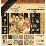 Graphic 45 - ABC Primer Collection - Deluxe Collector's Edition - 12 x 12 Papercrafting