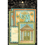 Graphic 45 - Artisan Style Collection - Journaling and Ephemera Cards