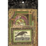 Graphic 45 - Rare Oddities Collection - Journaling and Ephemera Cards