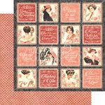Graphic 45 - Mon Amour Collection - 12 x 12 Double Sided Paper - Forever Mine
