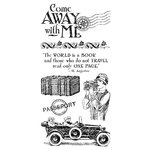 Graphic 45 - Hampton Art - Come Away With Me Collection - Cling Mounted Rubber Stamps - One