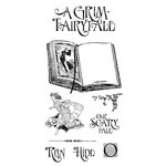 Graphic 45 - Hampton Art - An Eerie Tale Collection - Halloween - Cling Mounted Rubber Stamps - One