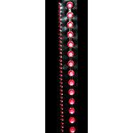 "Glitz Design - Frosting Collection - Self-Adhesive Rhinestones - 12"" Round Strips - Dark Pink"