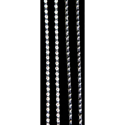 Glitz Design - Icing Collection - Self-Adhesive Pearls - Icing Strips - White and Black