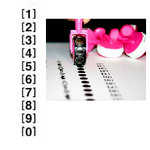 Glitz Design - Roller Doodles Collection - Roller Stamps - Numbers, CLEARANCE