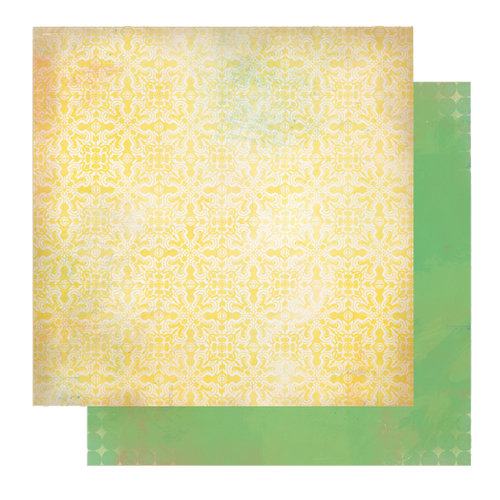Glitz Design - Afternoon Muse Collection - 12 x 12 Double Sided Paper - Block, CLEARANCE