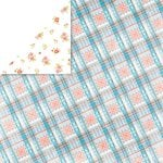 Glitz Design - Brightside Collection - 12 x 12 Double Sided Paper - Plaid