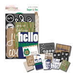 Glitz Design - Dapper Dan Collection - Cardstock Pieces - Bits and Pieces