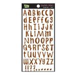 Glitz Design - Sparrow Collection - Cardstock Stickers - Alphabet