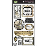 Glitz Design - Cardstock Stickers - Vintage Titles, CLEARANCE
