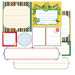 Glitz Designs - Camelot Collection - 12x12 Double Sided Paper - Camelot Journaling, CLEARANCE