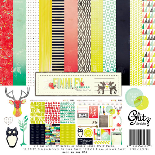 Glitz Design - Finnley Collection - 12 x 12 Collection Pack