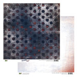 Glitz Design - Detour Collection - 12 x 12 Double Sided Paper - Detour Polka, BRAND NEW