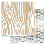 Glitz Design - Dapper Dan Collection - 12 x 12 Double Sided Paper - Woodgrain