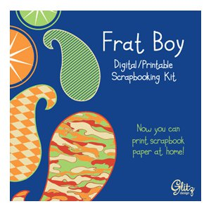 Glitz Design - Frat Boy Collection - Digital Printable CD, CLEARANCE