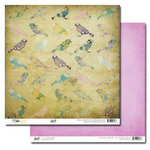 Glitz Design - Dance in Sunshine Collection - 12 x 12 Double Sided Paper - Birds