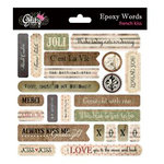Glitz Design - French Kiss Collection - Epoxy Stickers