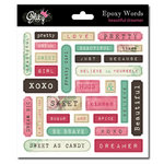 Glitz Design - Beautiful Dreamer Collection - Epoxy Stickers