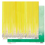 Glitz Design - Finnley Collection - 12 x 12 Double Sided Paper - Drip