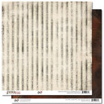 Glitz Design - French Kiss Collection - 12 x 12 Double Sided Paper - Stripe