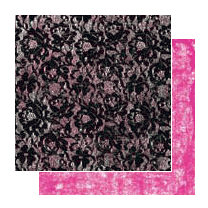 Glitz Design - Glam Collection - 12x12 Double Sided Paper - Lace
