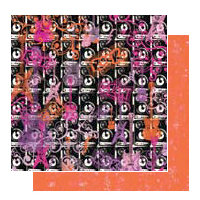 Glitz Design - Glam Collection - 12x12 Double Sided Paper - Music, CLEARANCE