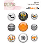 Glitz Design - Raven Collection - Halloween - Giant Rhinestones