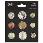 Glitz Design - French Kiss Collection - Giant Rhinestones