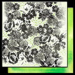 Glitz Design - Hoopla Collection - 12 x 12 Double Sided Paper - Floral, CLEARANCE